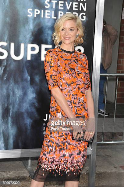 Actress Jaimie King arrives at the Premiere of Paramount Pictures' 'Super 8' held at the Regency Village Theater in Westwood