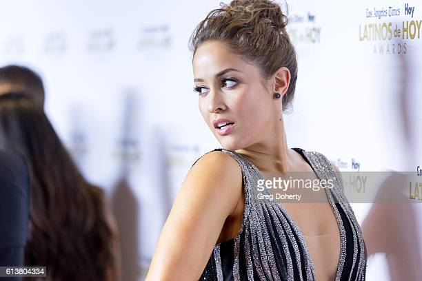 Actress Jaina Lee Ortiz arrives for the 2016 Latino's De Hoy Awards at the Dolby Theatre on October 9 2016 in Hollywood California