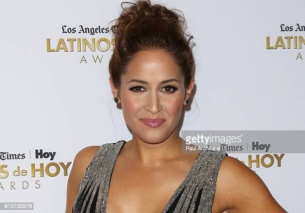 Actress Jaina Lee Ortiz attends the 2016 Latino's De Hoy Awards at The Dolby Theatre on October 9 2016 in Hollywood California