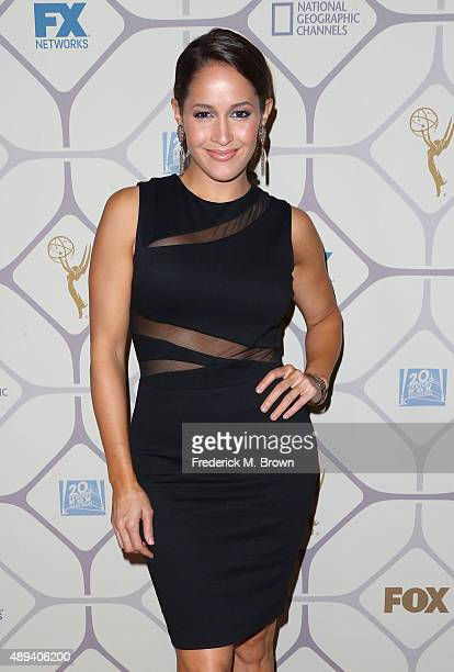 Actress Jaina Lee Ortiz attends the 67th Primetime Emmy Awards Fox after party on September 20 2015 in Los Angeles California