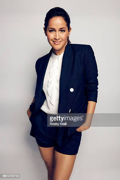 Actress Jaina Lee Ortiz from FOX's 'Rosewood' poses for a portrait at the FOX Summer TCA Press Tour at Soho House on August 9 2016 in Los Angeles...