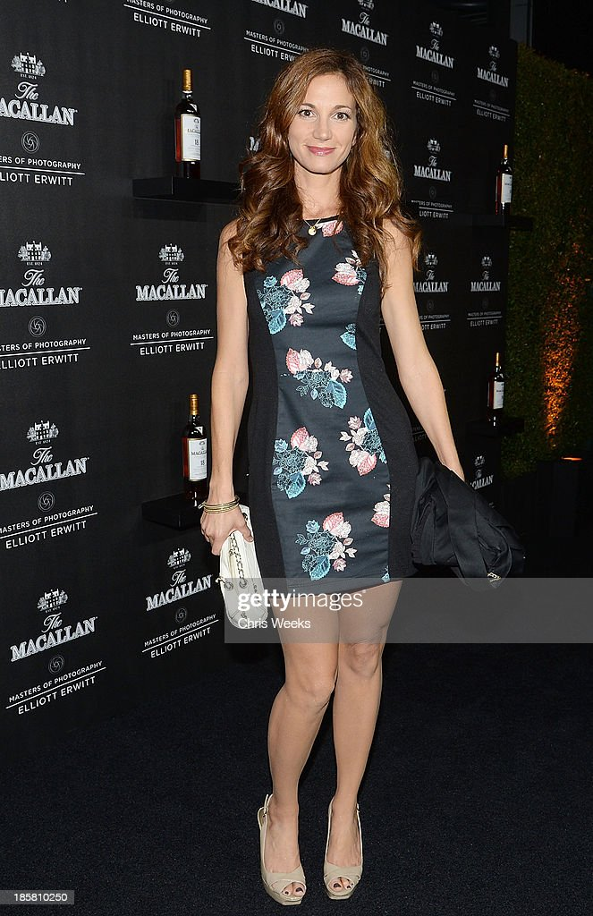 Actress Jama Williamson arrives at The Macallan Masters of Photography: Elliott Erwitt at Leica Gallery Los Angeles on October 24, 2013 in Los Angeles, California.