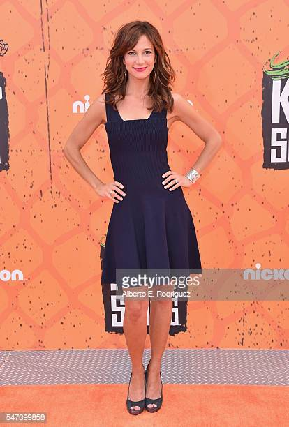 Actress Jama Williamson attends the Nickelodeon Kids' Choice Sports Awards 2016 at UCLA's Pauley Pavilion on July 14 2016 in Westwood California