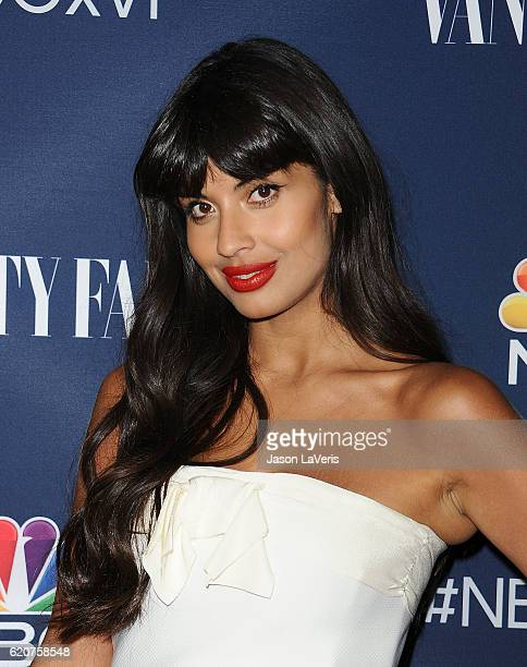 Actress Jameela Jamil attends the NBC and Vanity Fair toast to the 20162017 TV season at NeueHouse Hollywood on November 2 2016 in Los Angeles...
