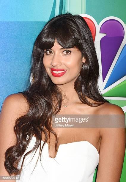 Actress Jameela Jamil attends the NBCUniversal Press Tour at the Beverly Hilton Hotel on August 2 2016 in Beverly Hills California