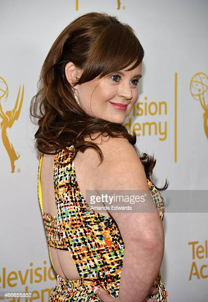 Actress Jamie Brewer arrives at An Evening With The Women Of 'American Horror Story' presented by the Television Academy at The Montalban on March 17...
