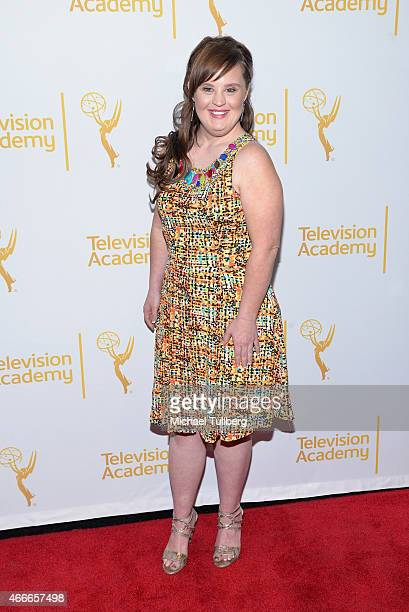 Actress Jamie Brewer attends 'An Evening With The Women Of 'American Horror Story'' presented by the Television Academy at The Montalban on March 17...