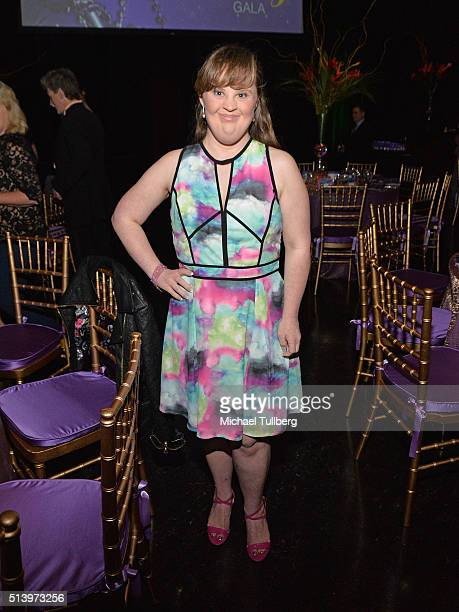 Actress Jamie Brewer attends Shane's Inspiration's 15th Annual Gala at The Globe Theatre on March 5 2016 in Universal City California