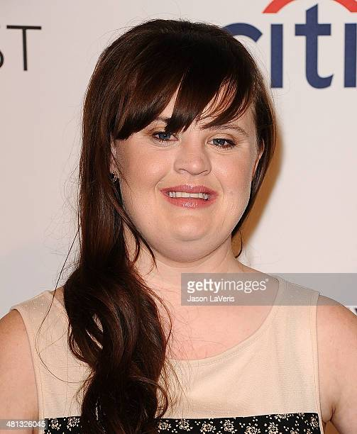 Actress Jamie Brewer attends the 'American Horror Story Coven' event at the 2014 PaleyFest at Dolby Theatre on March 28 2014 in Hollywood California
