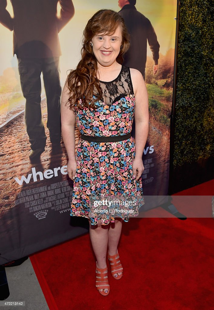 Actress Jamie Brewer attends the premiere of Roadside Attractions' & Godspeed Pictures' 'Where Hope Grows' at The ArcLight Cinemas on May 4, 2015 in Hollywood, California.