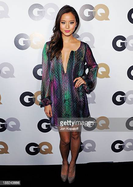 Actress Jamie Chung arrives at the 16th Annual GQ 'Men Of The Year' Celebration at Chateau Marmont on November 17 2011 in Los Angeles California