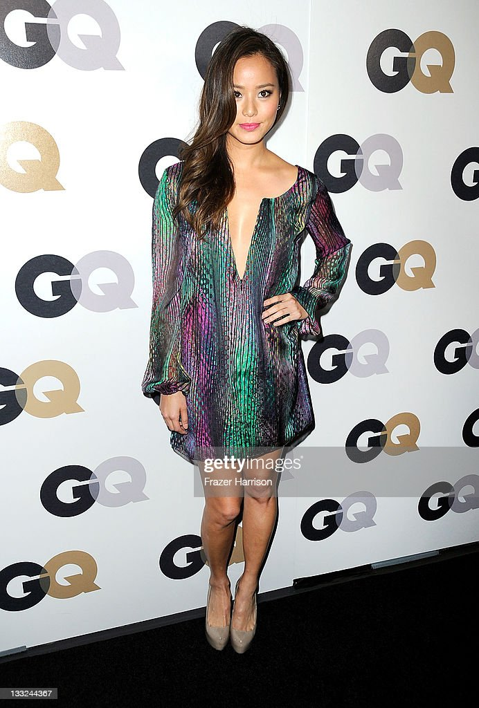 Actress <a gi-track='captionPersonalityLinkClicked' href=/galleries/search?phrase=Jamie+Chung&family=editorial&specificpeople=4145549 ng-click='$event.stopPropagation()'>Jamie Chung</a> arrives at the 16th Annual GQ 'Men Of The Year' Party at Chateau Marmont on November 17, 2011 in Los Angeles, California.