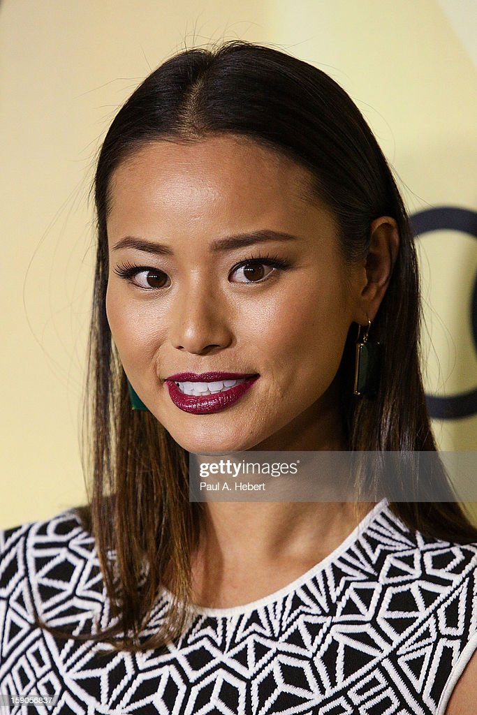 Actress Jamie Chung arrives at the Audi Golden Globe 2013 Kick Off Party at Cecconi's Restaurant on January 6, 2013 in Los Angeles, California.