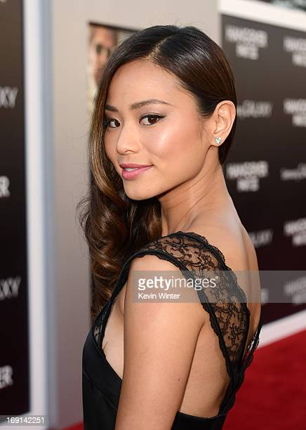 Actress Jamie Chung arrives at the premiere of Warner Bros Pictures' 'Hangover Part 3' on May 20 2013 in Westwood California