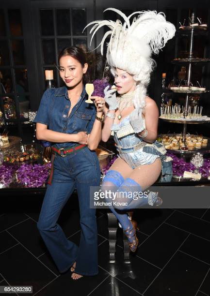 Actress Jamie Chung attends day one of TAO Beauty Essex Avenue Luchini LA Grand Opening on March 16 2017 in Los Angeles California