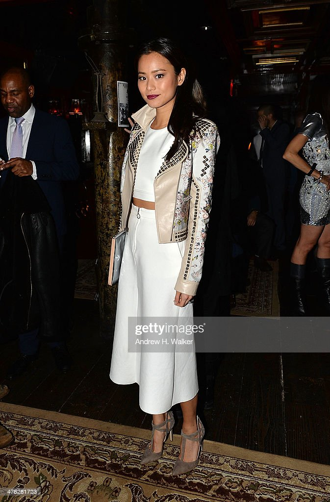 Actress <a gi-track='captionPersonalityLinkClicked' href=/galleries/search?phrase=Jamie+Chung&family=editorial&specificpeople=4145549 ng-click='$event.stopPropagation()'>Jamie Chung</a> attends Sony Pictures Classics' 'Only Lovers Left Alive' screening hosted by The Cinema Society and Stefano Tonchi, Editor in Chief of W Magazine after party at Chalk Point Kitchen on March 12, 2014 in New York City.