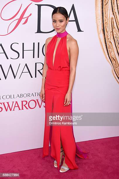 Actress Jamie Chung attends the 2016 CFDA Fashion Awards at the Hammerstein Ballroom on June 6 2016 in New York City