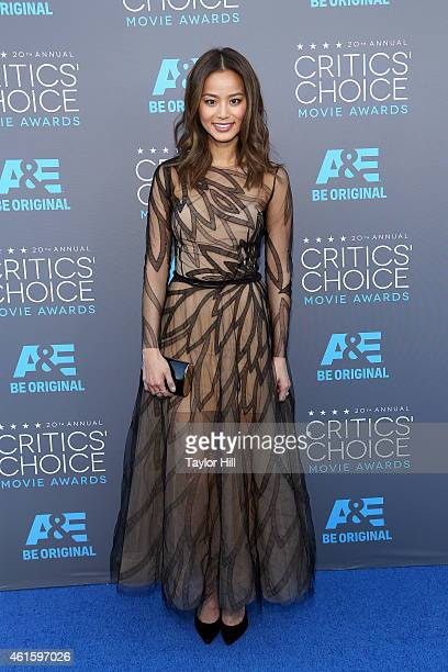Actress Jamie Chung attends The 20th Annual Critics' Choice Movie Awards at Hollywood Palladium on January 15 2015 in Los Angeles California