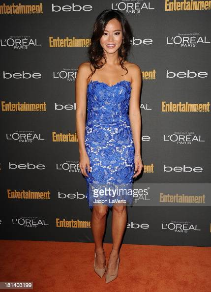 Actress Jamie Chung attends the Entertainment Weekly preEmmy party at Fig Olive Melrose Place on September 20 2013 in West Hollywood California