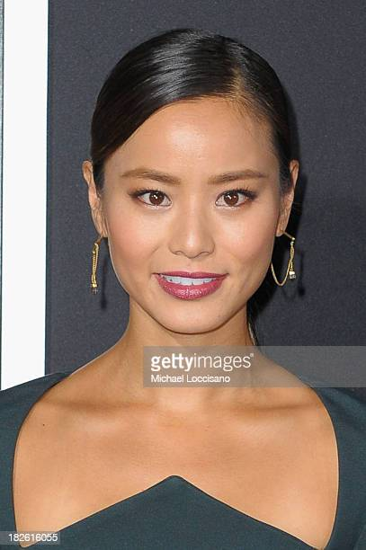 Actress Jamie Chung attends the 'Gravity' premiere at AMC Lincoln Square Theater on October 1 2013 in New York City