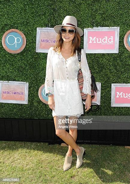 Actress Jamie Chung attends The Music Lounge Presented By Mudd Op event on April 12 2015 in Palm Springs California