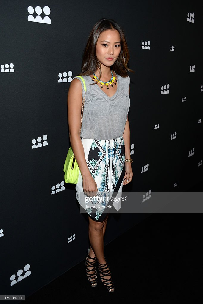 Actress Jamie Chung attends the new Myspace launch event at the El Rey Theatre on June 12, 2013 in Los Angeles, California
