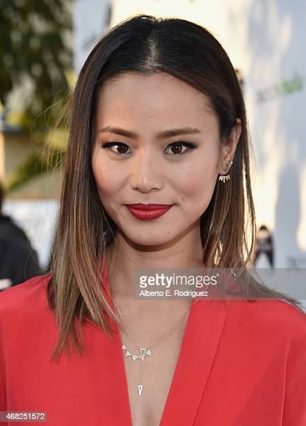 Actress Jamie Chung attends the premiere of Paramount and Hulu's 'Resident Advisors' at The Sherry Lansing Theatre at Paramount Studios on March 31...