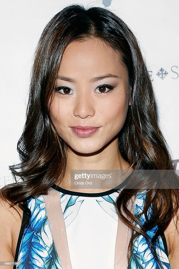 Actress <a gi-track='captionPersonalityLinkClicked' href=/galleries/search?phrase=Jamie+Chung&family=editorial&specificpeople=4145549 ng-click='$event.stopPropagation()'>Jamie Chung</a> attends The Second Annual Olevolos Project Fundraiser at The General on May 11, 2013 in New York City.
