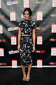 Actress Jamie Chung attends Walt Disney Studios' 2014 New York Comic Con presentations of 'Big Hero 6' and 'Tomorrowland' at the Javits Convention...
