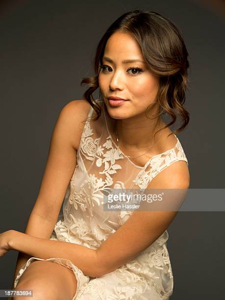 Actress Jamie Chung is photographed for Self Assignment on April 24 2012 in New York City