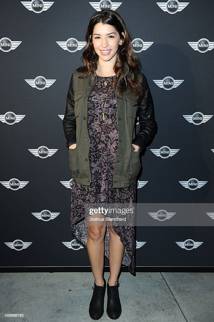 Actress Jamie Gray Hyder arrives at the Kim Sing Theatre for MINI Cooper Unveils Newest Addition To The MINI Fleet During Los Angeles Auto Show on November 19, 2013 in Los Angeles, California.