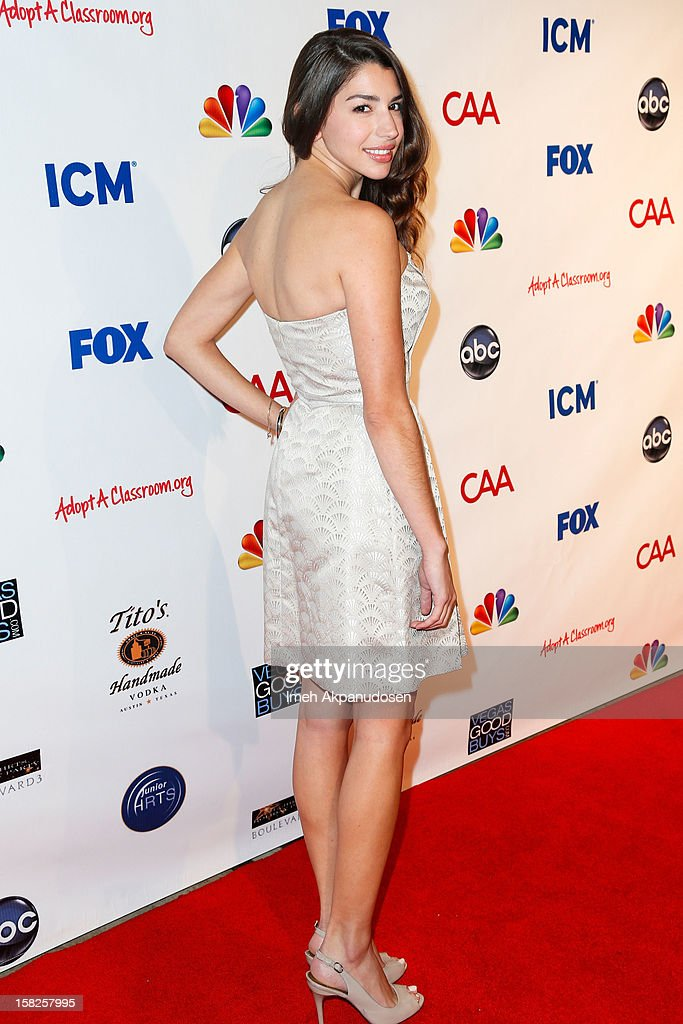 Actress Jamie Gray Hyder attends the Junior Hollywood Radio & Television Society (JHRTS) Holiday Party at Boulevard3 on December 11, 2012 in Hollywood, California.