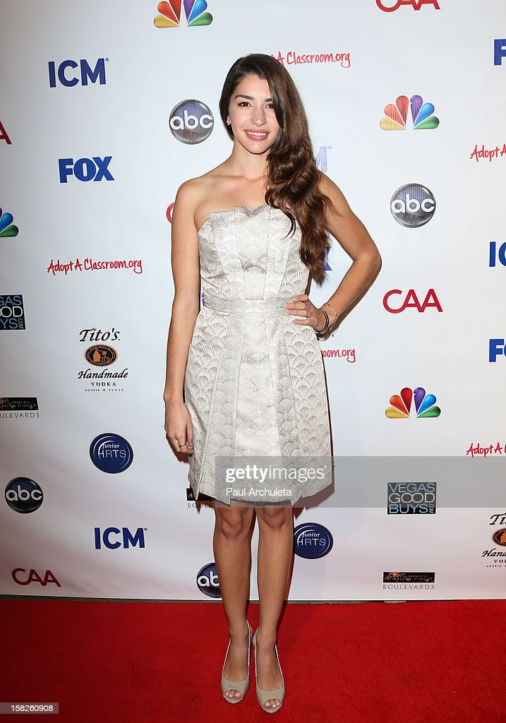 Actress Jamie Gray Hyder attends the Junior Hollywood Radio & Television Society's 10th annual holiday party at Boulevard3 on December 11, 2012 in Hollywood, California.