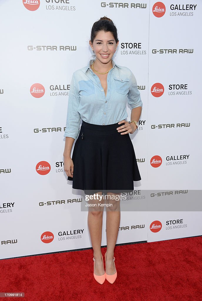 Actress Jamie Gray Hyder attends the Leica Store Los Angeles grand opening on June 20, 2013 in Los Angeles, California.