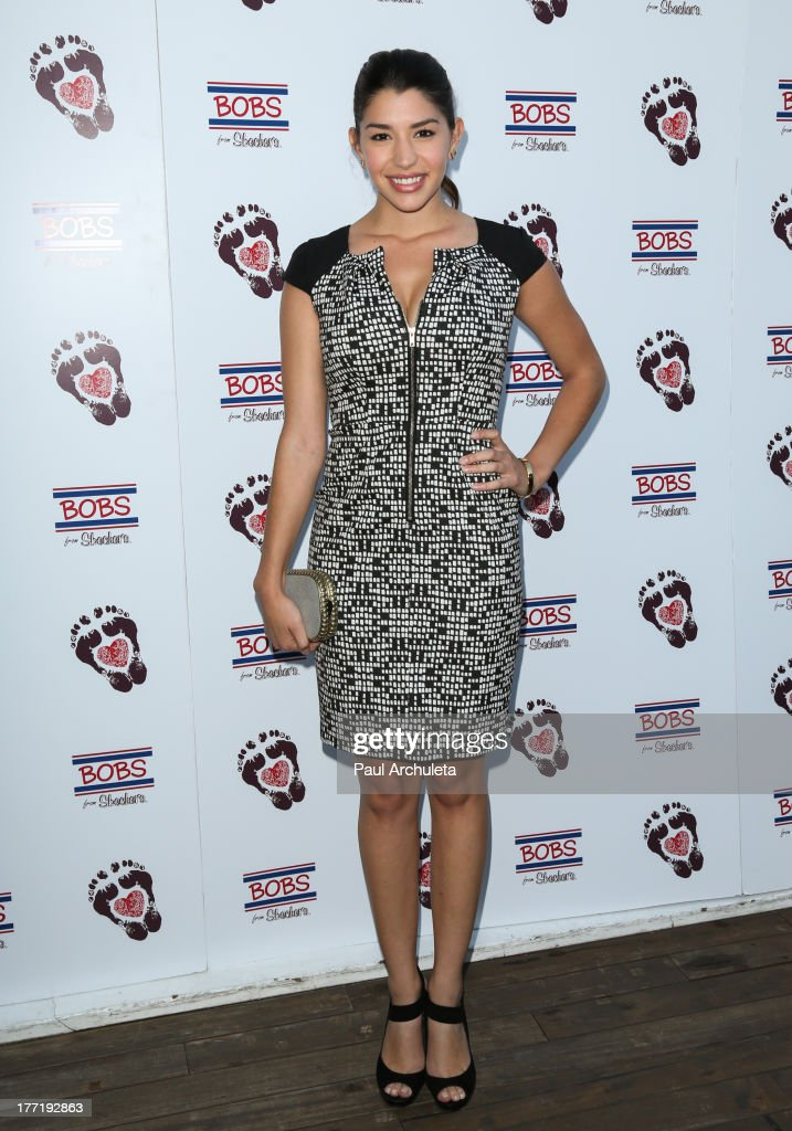 Actress Jamie Gray Hyder attends the Skechers 'Summer Soiree' at SkyBar at the Mondrian Los Angeles on August 21, 2013 in West Hollywood, California.