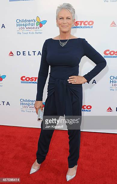 Actress Jamie Lee Curtis arrives at the Children's Hospital Los Angeles Gala Noche de Ninos at LA Live Event Deck on October 11 2014 in Los Angeles...