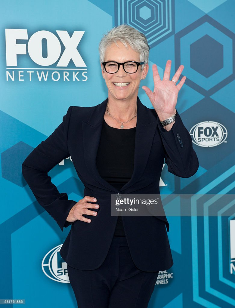 Actress Jamie Lee Curtis attends the 2016 Fox Upfront at Wollman Rink, Central Park on May 16, 2016 in New York City.