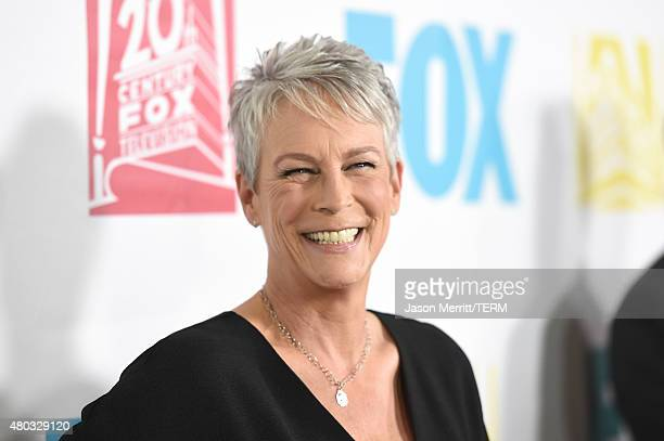 Actress Jamie Lee Curtis attends the 20th Century Fox party during ComicCon International 2015 at Andaz Hotel on July 10 2015 in San Diego California
