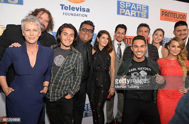 Actress Jamie Lee Curtis executive producer Sean McNamara actor Jose Julian comedian George Lopez actors Marisa Tomei David Del Rio Carlos PenaVega...