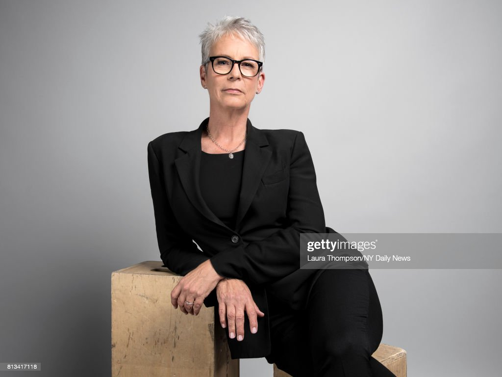 Actress Jamie Lee Curtis photographed for NY Daily News on April 20, 2017, in New York City.