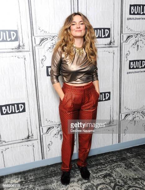 Actress Jamie Neumann visits Build to discuss 'The Deuce' at Build Studio on October 26 2017 in New York City