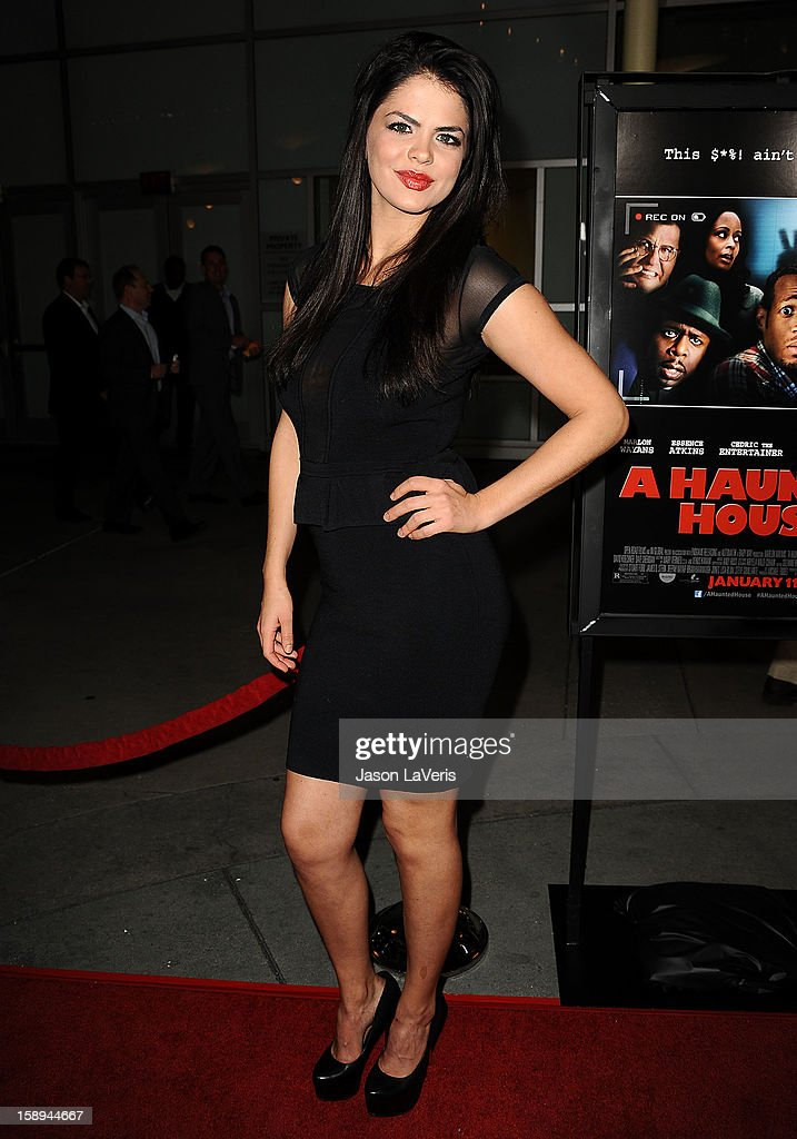 Actress Jamie Noel attends the premiere of 'A Haunted House' at ArcLight Hollywood on January 3, 2013 in Hollywood, California.