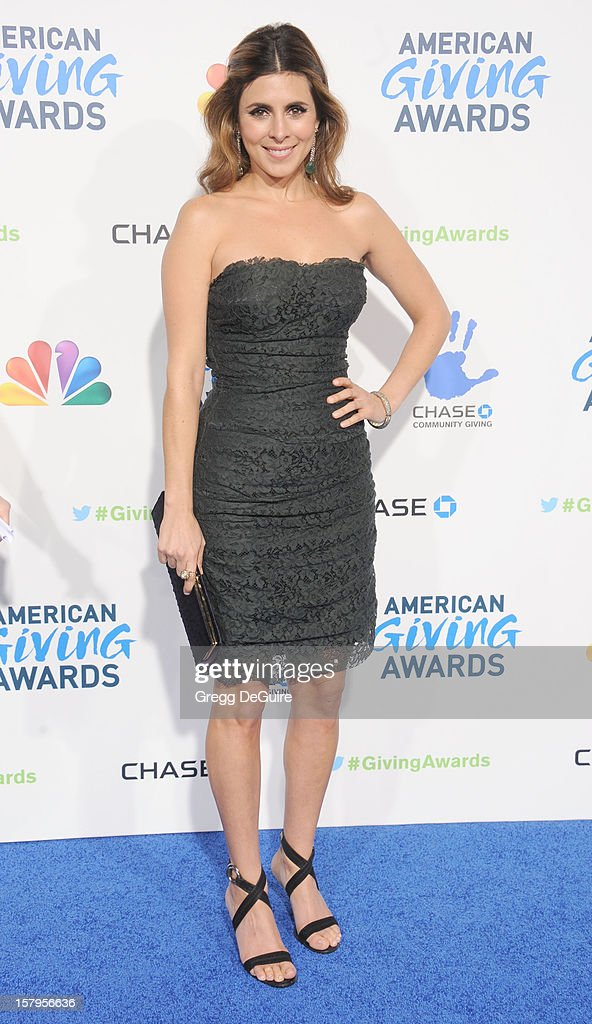 Actress Jamie-Lynn Sigler arrives at the 2nd Annual American Giving Awards at the Pasadena Civic Auditorium on December 7, 2012 in Pasadena, California.