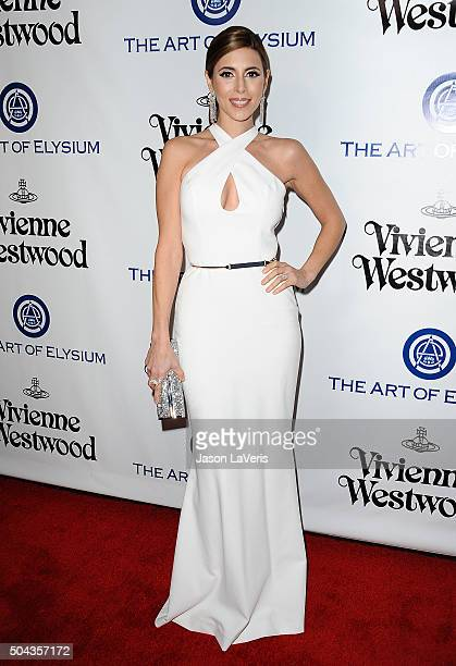 Actress JamieLynn Sigler attends Art of Elysium's 9th annual Heaven Gala at 3LABS on January 9 2016 in Culver City California