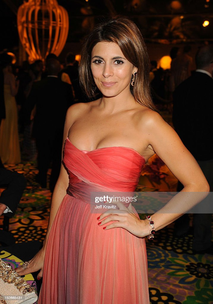 Actress Jamie-Lynn Sigler attends HBO's Official Emmy After Party at The Plaza at the Pacific Design Center on September 23, 2012 in Los Angeles, California.