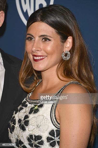 Actress JamieLynn Sigler attends the 2014 InStyle And Warner Bros 71st Annual Golden Globe Awards PostParty held at The Beverly Hilton Hotel on...