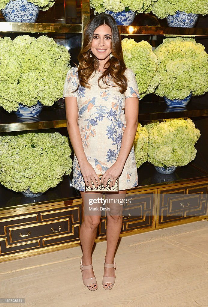 Actress <a gi-track='captionPersonalityLinkClicked' href=/galleries/search?phrase=Jamie-Lynn+Sigler&family=editorial&specificpeople=204494 ng-click='$event.stopPropagation()'>Jamie-Lynn Sigler</a> attends the Tory Burch Rodeo Drive Flagship Opening at Tory Burch on January 14, 2014 in Beverly Hills, California.