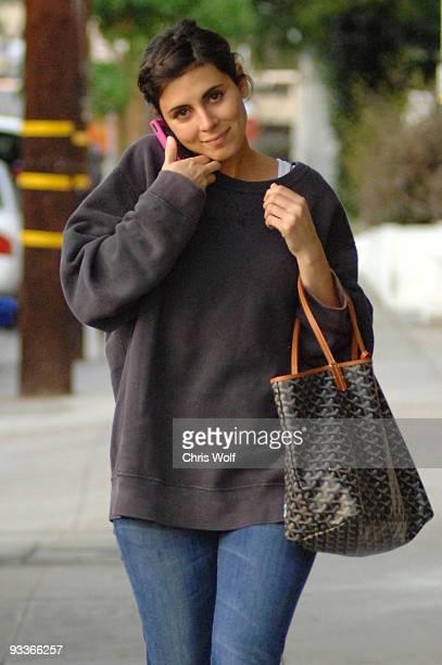 Actress JamieLynn Sigler sighting on November 24 2009 in Beverly Hills California