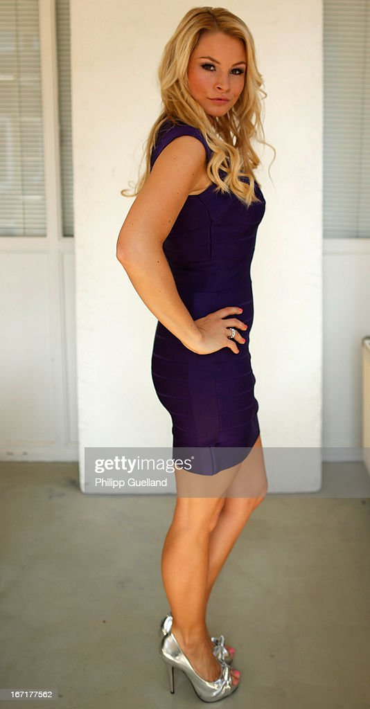 Actress Jana Julia Kilka attends the 18th anniversary celebration of the TV-show 'Verbotene Liebe' on April 22, 2013 in Hamburg, Germany.
