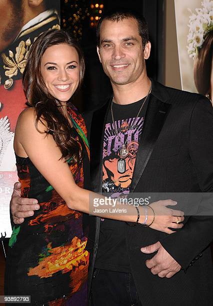 Actress Jana Kramer and actor Johnathon Schaech attend the premiere of 'The Young Victoria' at Pacific Theatre at The Grove on December 3 2009 in Los...